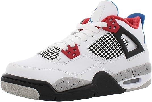 NIKE Air Jordan 4 Retro (GS), Zapatillas de básquetbol para Niños: Amazon.es: Zapatos y complementos