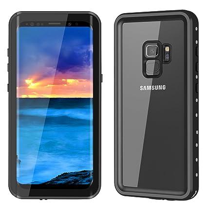 Amazon.com: Samsung Galaxy S9 Funda impermeable ymccool Full ...