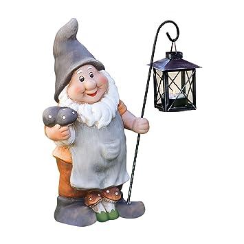 nain de jardin classique avec lanterne: Amazon.fr: Jardin