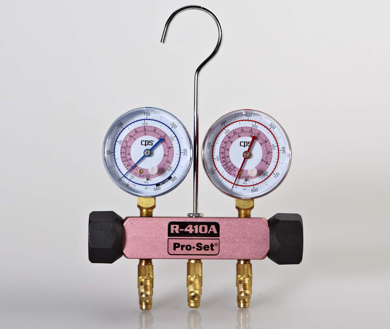 CPS MEB Piston Series 2 Valve Manifold - Pink Body, Without Hoses