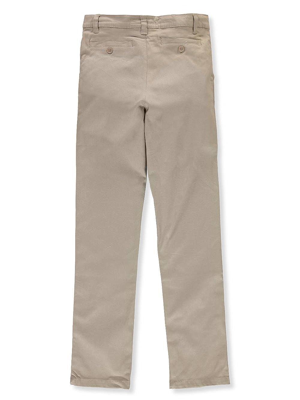U.S Khaki Polo Assn Little Boys Flat Front Stretch Twill Pants 6