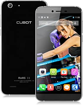 Cubot X10 - Nuevo Smartphone Libre Teléfono Móvil 3G (Android 4.4, Pantalla 5.5