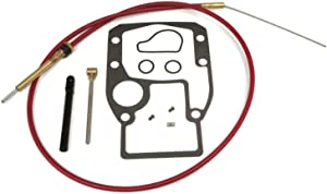 The ROP Shop | Lower Shift Cable Kit for Evinrude, Johnson, OMC & BRP 0987498, 0985587 Engines