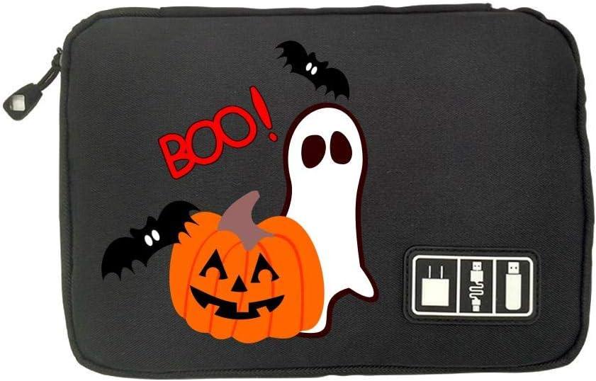 ONSSSNO Halloween,Fashion Cute Advanced Travel Electronics Accessories Organiser Bag Gray