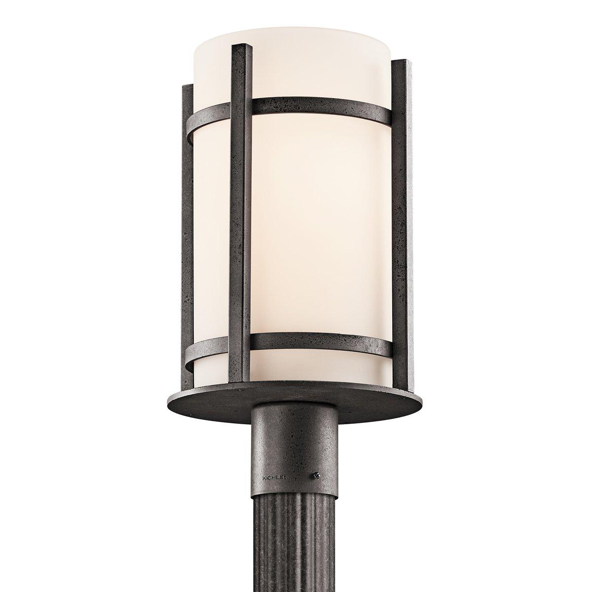 Amazon kichler 49123avi camden outdoor post lantern in anvil amazon kichler 49123avi camden outdoor post lantern in anvil iron garden outdoor mozeypictures Images