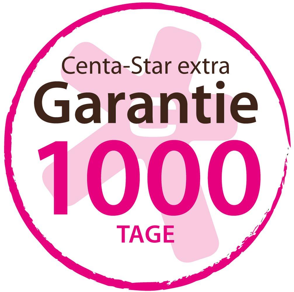 Centa Star 5124.06 extra Ambiente Kassettenbett 4 x 6,2 Innensteg, cm Innensteg, 6,2 warm, 240 x 220 cm 754809