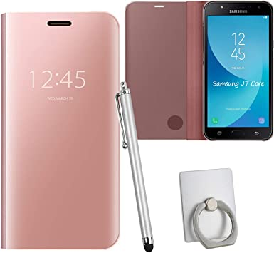 Guran® Mirror Efecto Espejo Funda para Samsung Galaxy J7 Core ...
