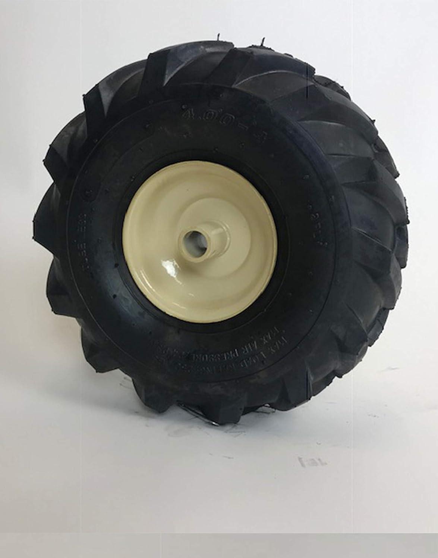 Amazon.com: LMTS 11 x 4.00-4 Rueda 2 capas Tractor Tread 3/4 ...
