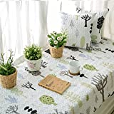 Non-slip Tatami Mat Rugs Retro bay window cushion cover seats sill pad Cotton For living room bedroom-D 70x180cm(28x71inch)