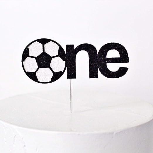 Decoración para tarta de balón de fútbol: Amazon.es: Hogar