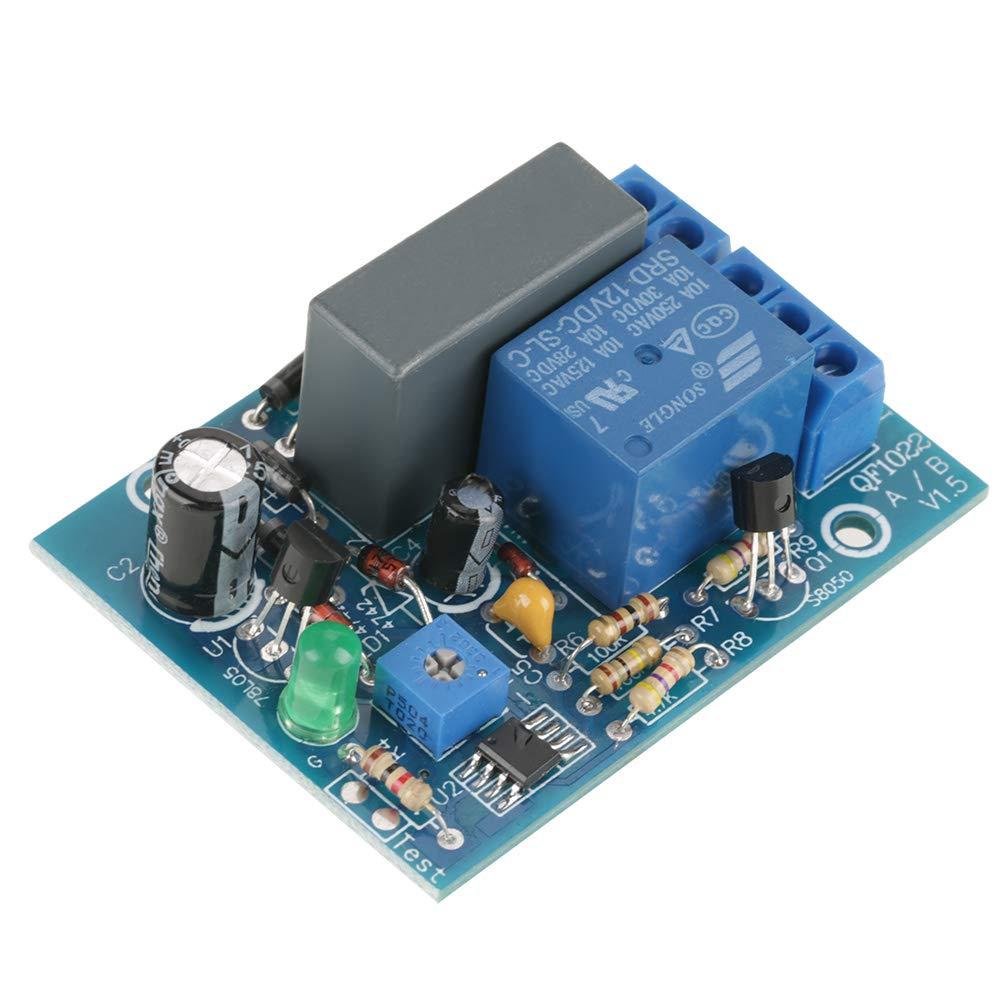 AC 220V Module de Relais de Minuterie de Temporisation /à Cycle Infini Marche Arr/êt 10A 250V AC//10A 30V DC 0-10minutes