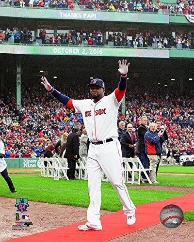 David Ortiz Boston Red Sox October 2, 2016 Retirement Ceremony Photo (8