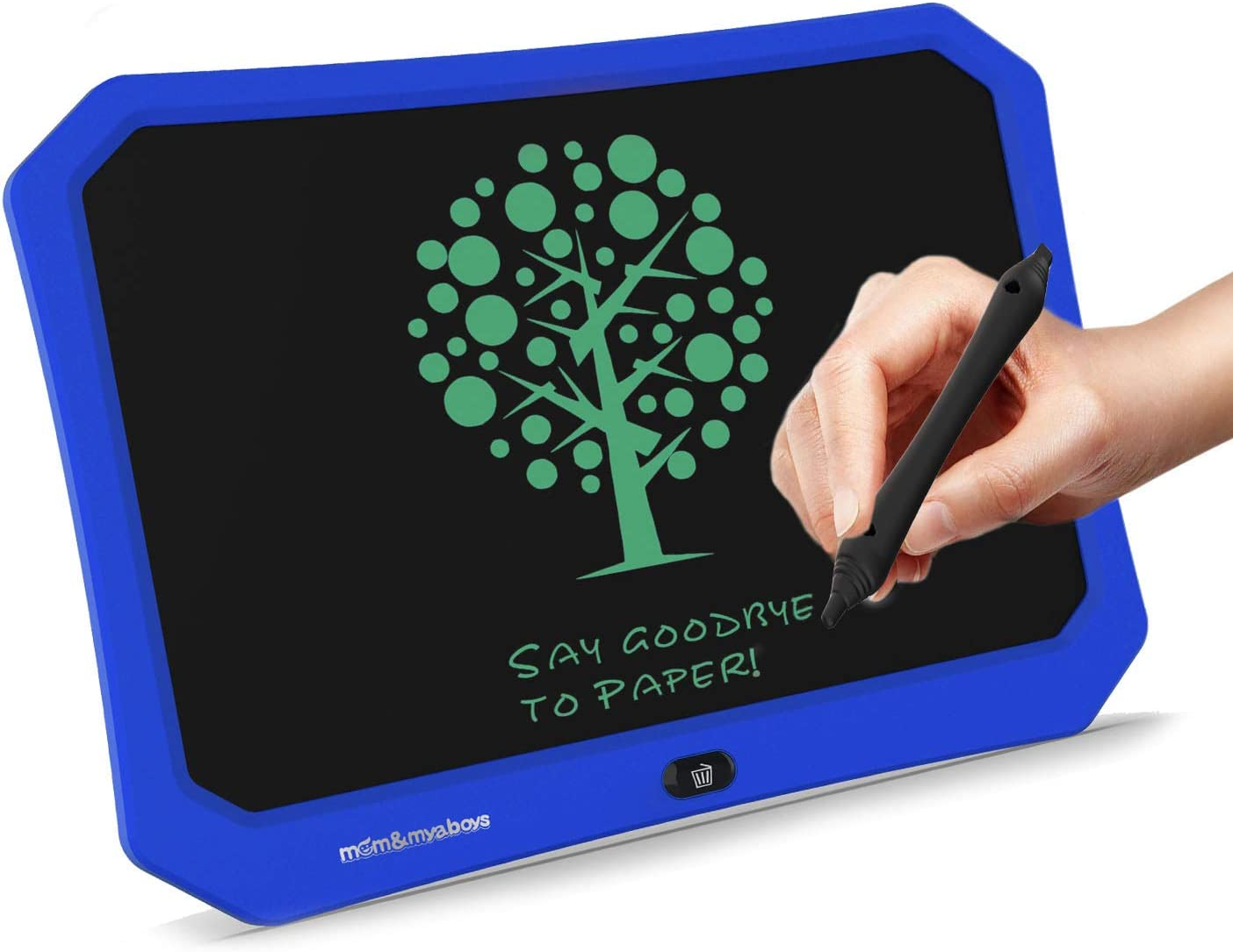 Blue mom/&myaboys17 Inches Writing Tablet Toys for 5-16 Year Old Boys,Electronic Drawing Pads for Kids,Reusable Erasable writer,Drawing Pad for 4-8 Yr Old Boys Toys Digital Handwriting Doodle for Kids