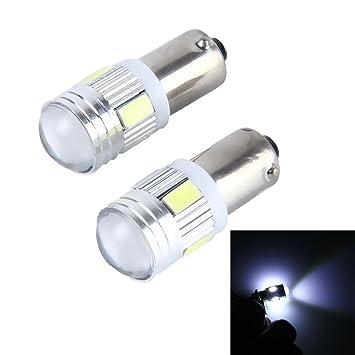 FINA CALIDAD Luz, 2 PCS BA9S 3W 250 LM 5500K Lámpara de luz de gálibo