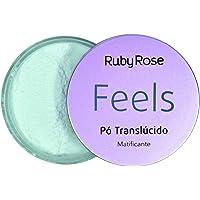 RUBY ROSE FEELS PÓ TRANSLÚCIDO MATIFICANTE 8.5G HB-7224