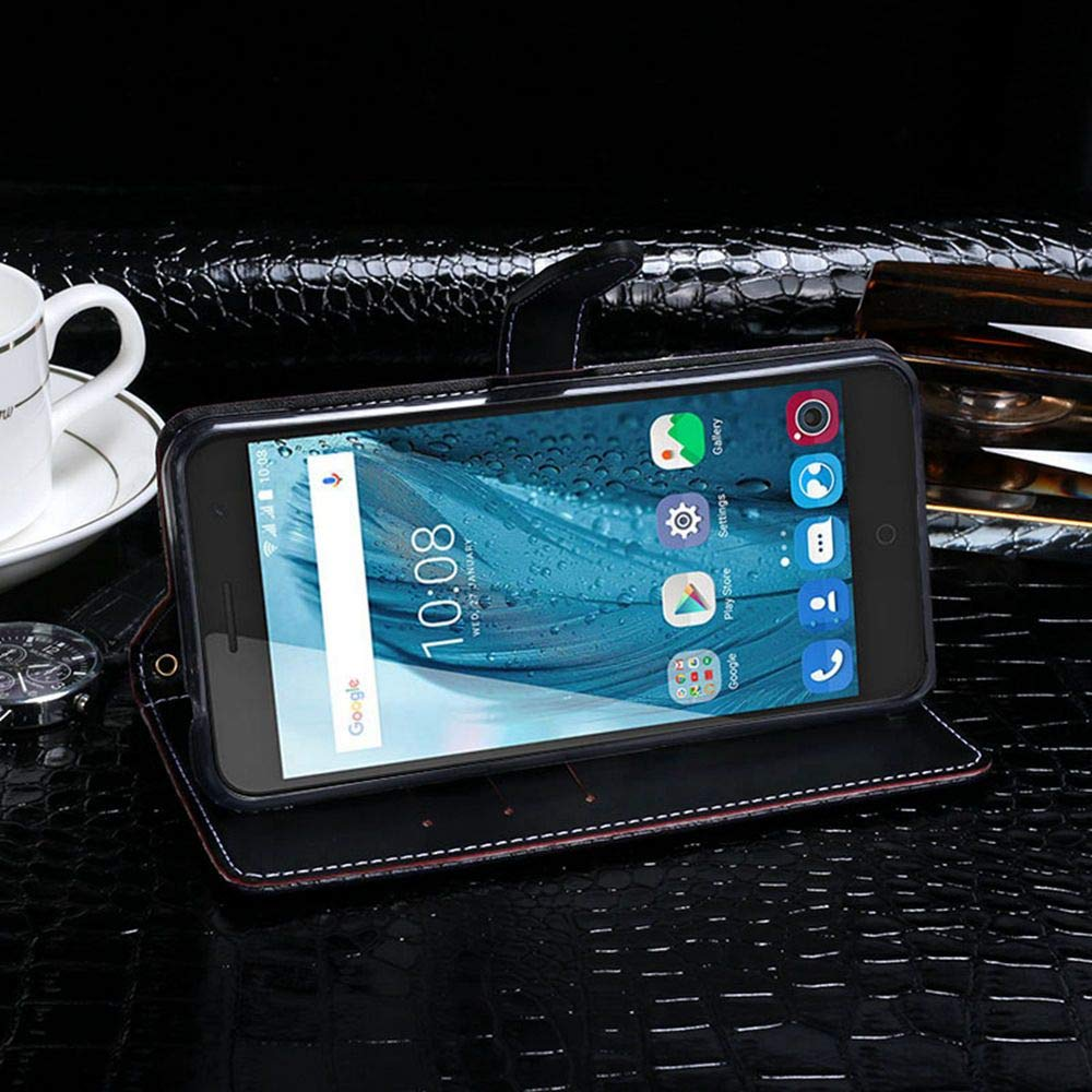 Amazon.com: Case for ZTE Blade V7 Plus, PU Leather Stand ...