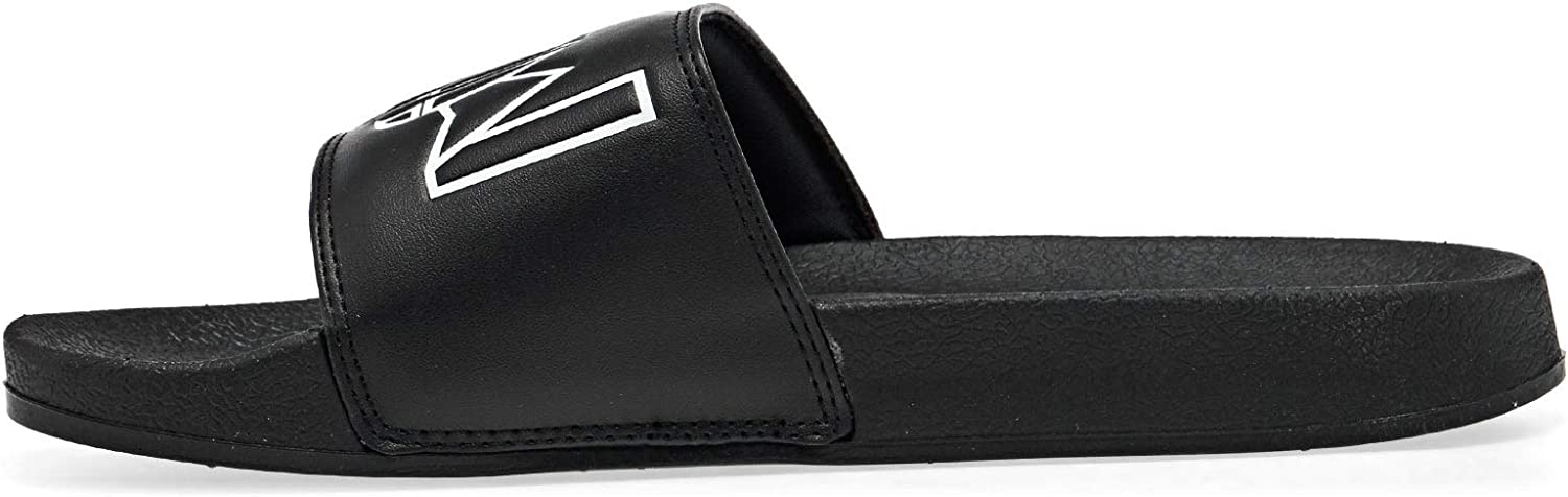 Animal Mens Slyde Summer Sliders Black 11.5