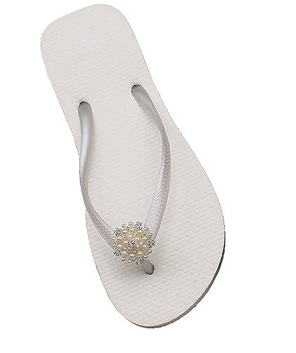 Designer Luxus Flip Flops-Chanclas Exclusivas Simone Herrera-Slim Line-ANA-Riemchen Sandale Zehentrenner (35/36) m5hw9Dfb