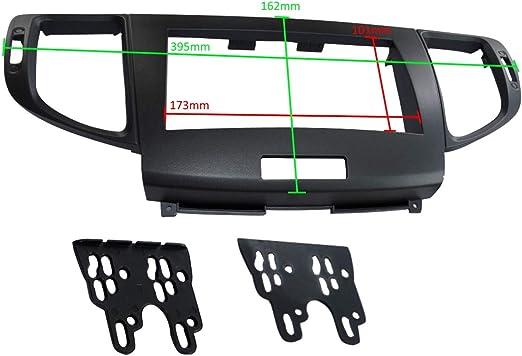 Car Radio Fascia Frame Reducer 2 DIN AERZETIX C40671