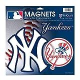 "WinCraft MLB New York Yankees 18880014 Vinyl Magnet, 11"" x 11"""