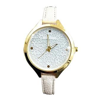 Rosepoem - Reloj de Cuarzo Decorativo Casual Casual Reloj ...