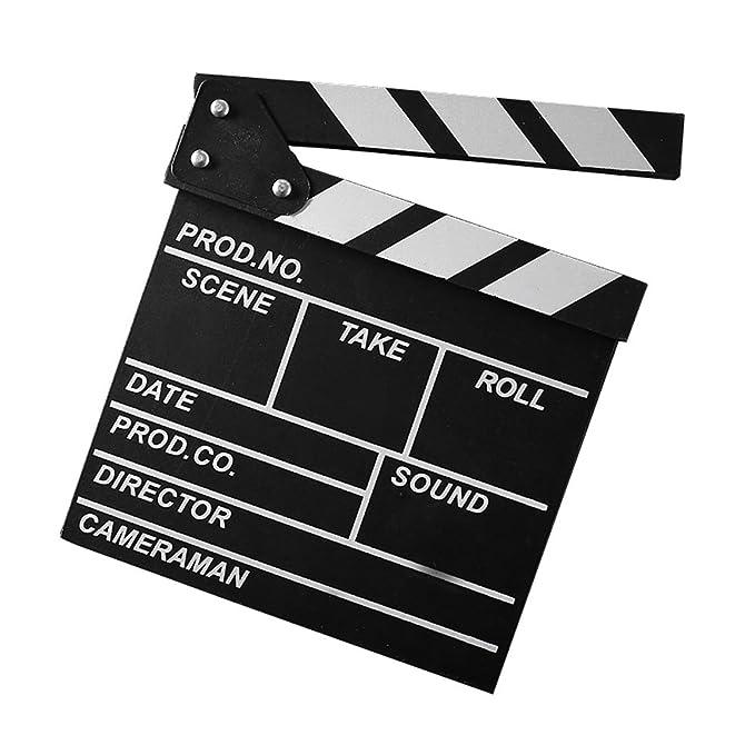 Tablero de chapaleta de madera Pizarra Director de cine ...