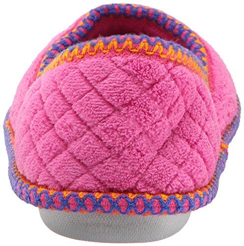 Muk Luks Womens Beverly Micro Chenille Slip-Ons Bubblegum Pink PhAn4OW