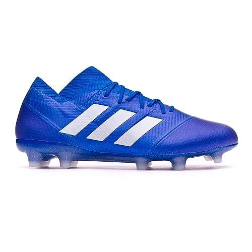 Adidas Nemeziz 18.1 FG, Botas de fútbol para Hombre: Amazon.es: Zapatos y complementos
