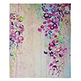 DiaNoche Fleece Blankets Soft Fuzzy 4 SIZES! by Julia DiSano - Dance of the Sakura - Toddler 40'' x 30''