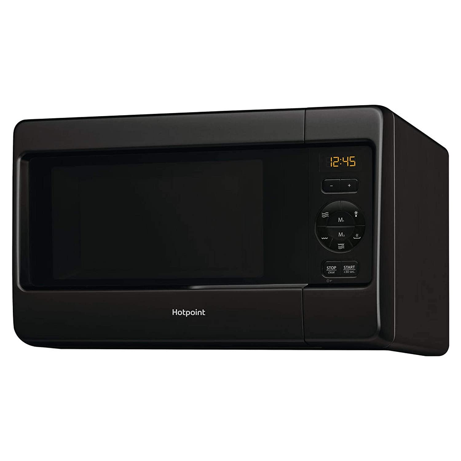 Hotpoint MWH2422MB 24L 750W Freestanding Microwave with Grill in Black