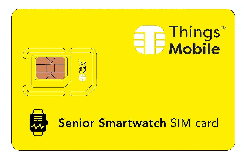 Tarjeta SIM para SMARTWATCH / RELOJ INTELIGENTE PARA PERSONAS ...