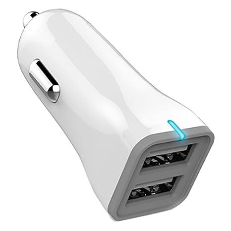popower Cargador de Coche: Cargador de Coche Dual Port USB ...