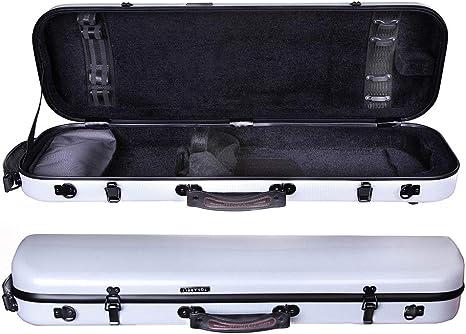 Tonareli - Estuche para violín fibra de vidrio 4/4 sonderausgabe perlado grafito vnfo1014 + ordenador funda - autorizado Comercial: Amazon.es: Instrumentos musicales