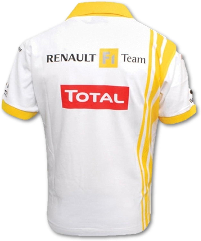 Fórmula uno 1 Renault F1 equipo Vitaly Petrov Mens Polo, hombre ...