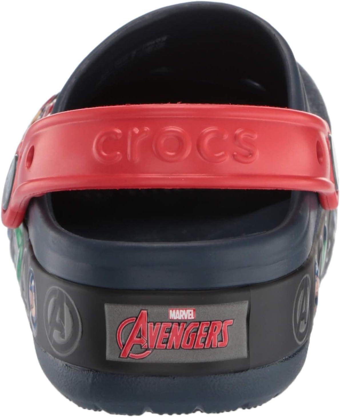 Crocs Kids Boys and Girls Marvel Light Up Clog