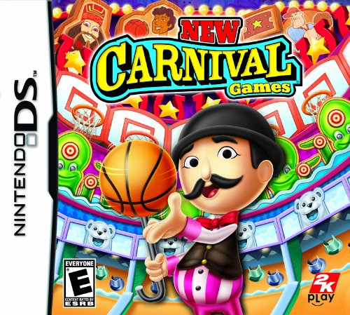 New Carnival Games - Nintendo DS (Wii Sesame Street Game)