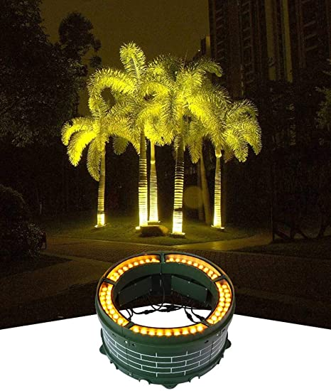 Aida Bz Jardín Impermeable al Aire Libre llevó la luz del árbol, Foco de jardín al Aire Libre Villa Vista luz,Greenlight,144W: Amazon.es: Hogar