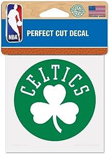 "WinCraft NBA Boston Celtics Perfect Cut Color Decal, 4"" x 4"""