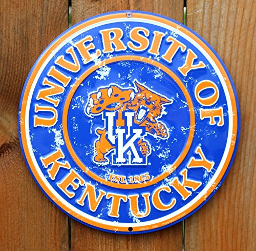 University Metal (University of Kentucky Wildcats 12