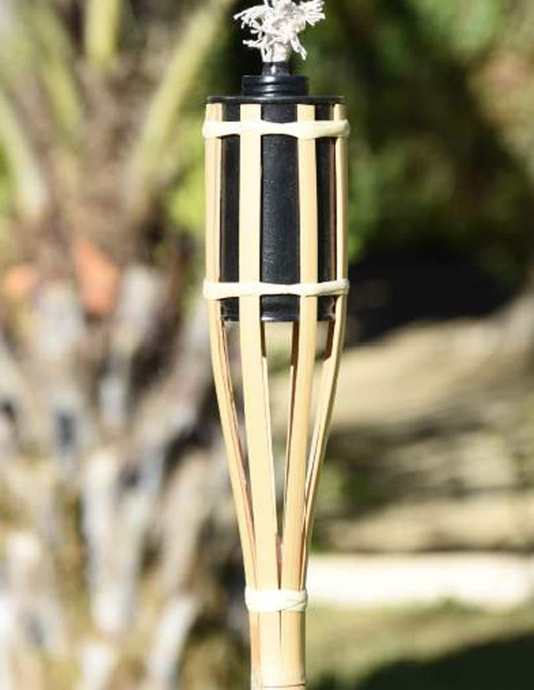 Antorcha de bambú Suelo
