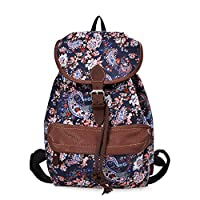 Douguyan Lightweight Backpack for Teen Girls Cute Backpack Print Rucksack