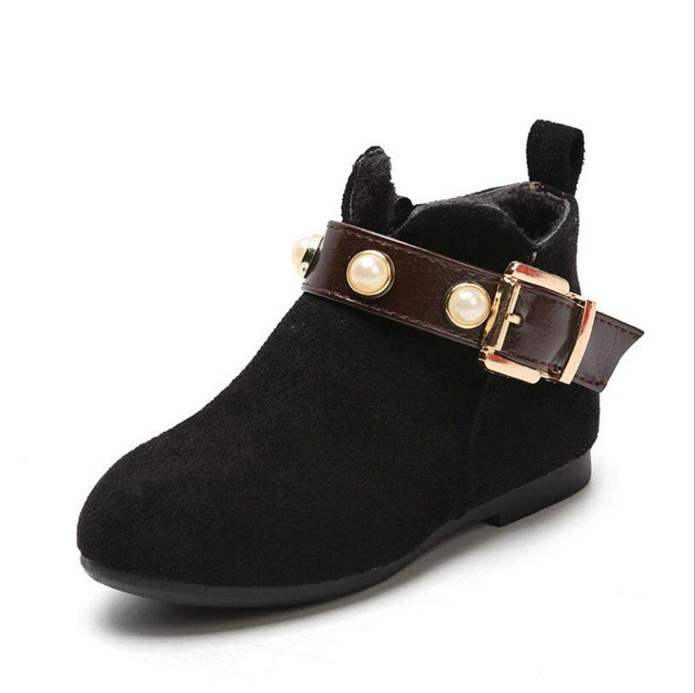 Mode bébé tout petits chaussures, Stillshine - hiver épais bottes de neige chaudes bambin garçon filles bottes de fourrure (28, Rouge) Stillshine - hiver épais bottes de neige chaudes bambin garçon filles bottes de fourrure (28