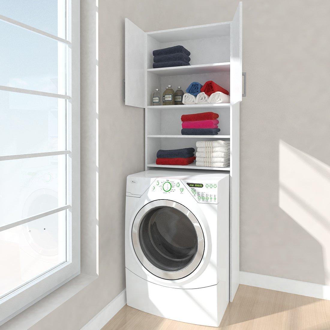 Respekta Waschmaschinen Umbauschrank Hochschrank Badezimmer