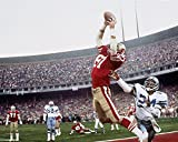 "San Francisco 49ers Dwight Clark 8x10 Photo Of ""The Catch"" Jan. 10, 1982"
