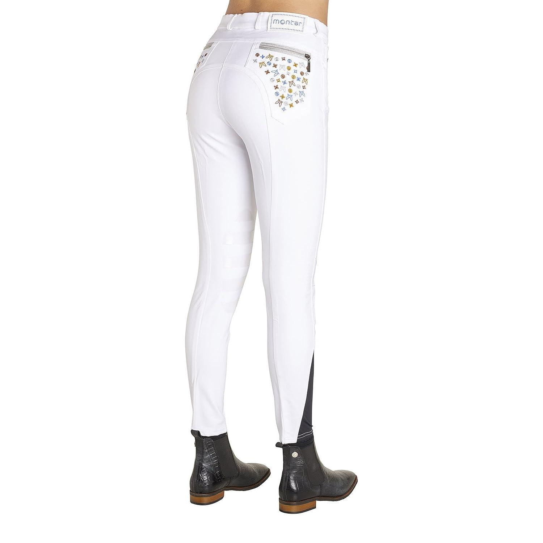 MontarジェーンLV Ladies Breeches – ホワイト B07B7PBQBD 38|ホワイト ホワイト 38