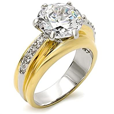 Ah Jewellery 8ct Stunning Brilliant Round Simulated Diamonds Two