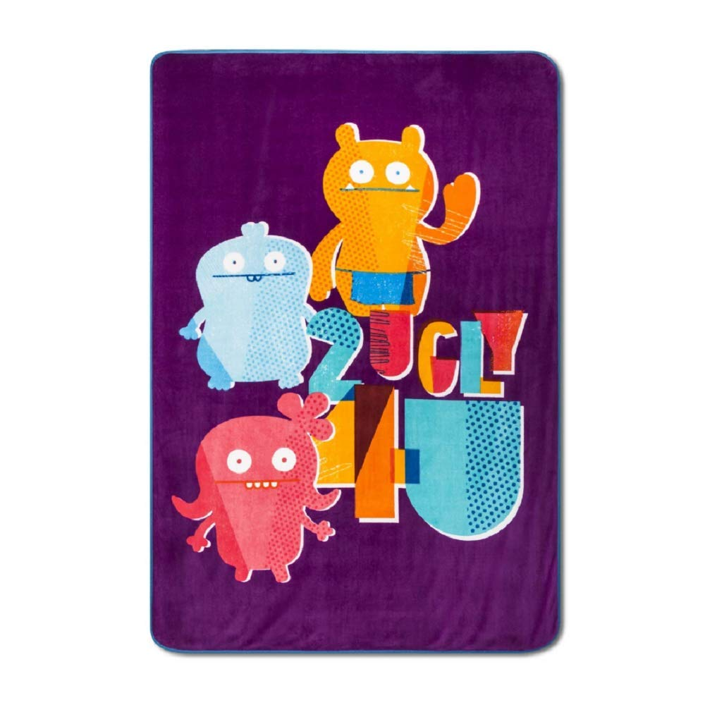 Ugly Dolls Ugly for U 62 x 90 inch Bed Blanket by Franco