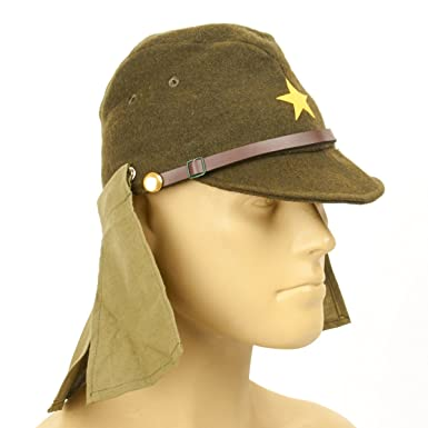 fd54e29470d Image Unavailable. Image not available for. Color  Japanese WWII Army EM NCO  Field Hat ...