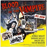 Rikki Knight RK-LSPS-3704 Vintage Movie Posters Art Blood Of Vampire 4 Design Light Switch Plate Cover