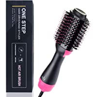Songtai 3-in-1 Hot Air Straightener Hair Dryer Brush